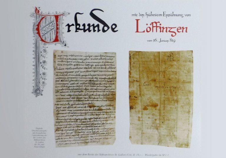 1200 Jahre Jubiläum Löffingen